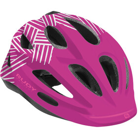 Rudy Project Rocky Helmet Kids purple-white shiny